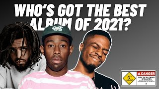 Who dropped the best album of 2021? (Reviewing Tyler, the Creator, J Cole, Pi'erre Bourne and more)