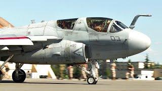 EA-6B Prowler Takes Off In Alaska