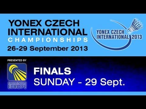 Finals - WS - Kirsty Gilmour vs Cheng Chi Ya - 2013 Yonex Czech International