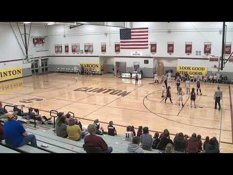 CJHS vs  Moulton Middle School Girls Basketball 8th Grade