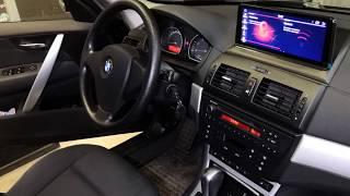 установка магнитолы BMW X3 e83