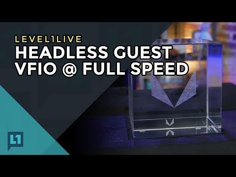 Livestream: Threadripper Fully Operational for VFIO/Passthrough