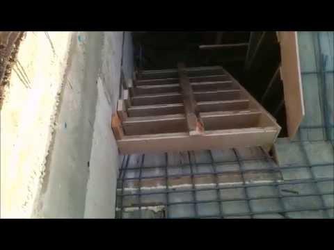 Заливка лестницы в подвал [Лесковка]