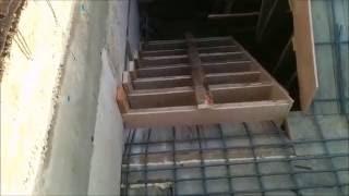 заливка лестницы в подвал Лесковка