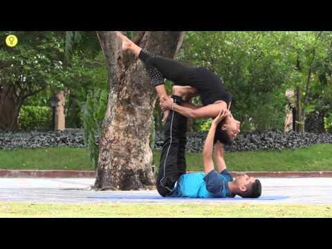 Acro Yoga- BACKWARD FLYING - Stylecraze Yoga