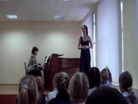 Ария Аджилеи из оперы