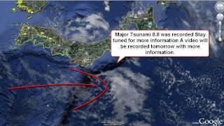 Japan Major Earth Quake East Coast 8.9 (tsunami)