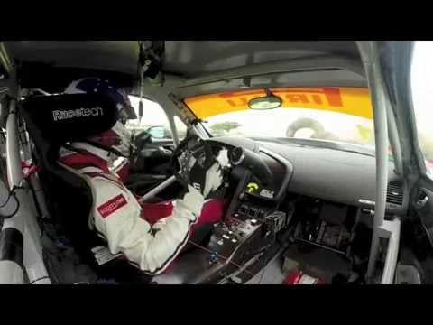 Equity-One-Motorsport Phillip Island Audi R8 crash May 2014