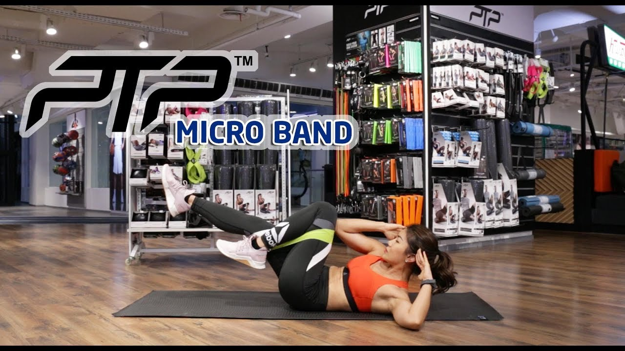 PTP MICROBAND - HOME WORKOUT with INGE ANUGRAH | EXERCISE VIDEO