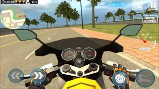 Furious City Moto Bike Racer 2 - Gameplay video
