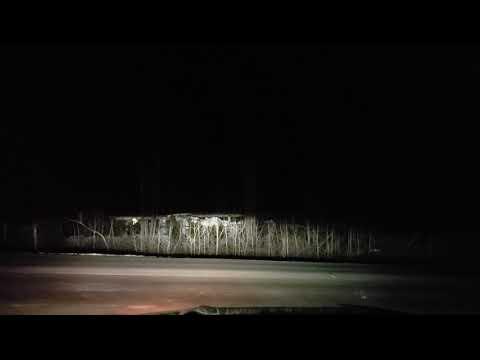 2019 Ford Fusion Energi Headlights at Night