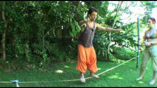 Slackline: What to do once you can walk