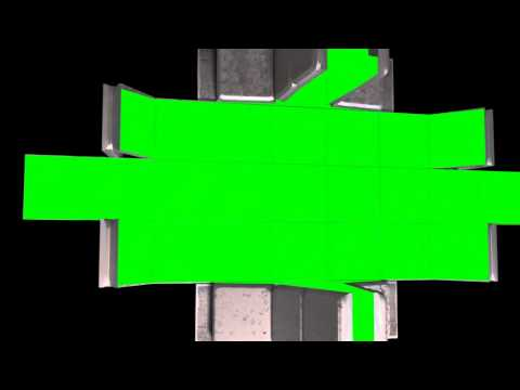 Greenscreen robot animation thumbnail