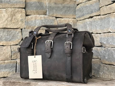The Best Leather Doctor's Bag- (SADDLEBACK LEATHER Co)