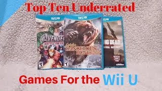 Top Ten Underrated Games for the Wii U by Second Opinion Games