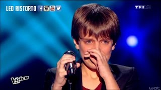 amazing young boy singing   i will always love you the voice kids