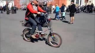 Бесшумные мотовелосипеды(Не значительный шум мотовелосипедов по сравнению с общим шумовым фоном., 2016-09-23T21:03:13.000Z)