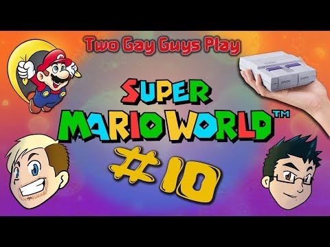 Super Mario World #10 - Poor Man's Blue Yoshi Two Gay Guys Play