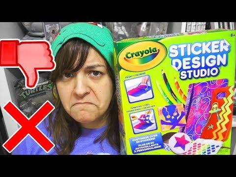 DON'T BUY! 12 REASONS CRAYOLAs Sticker Studio Kit is NOT worth it SaltEcrafter #9