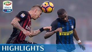 Milan - Inter - 2-2 - Highlights - Giornata 13 - Serie A TIM 2016/17 streaming