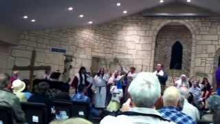 Choir in Athens Texas! Best church ever!!