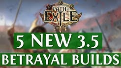 5 NEW Path Of Exile Synthesis Builds (PoE Builds 3.6 2019)
