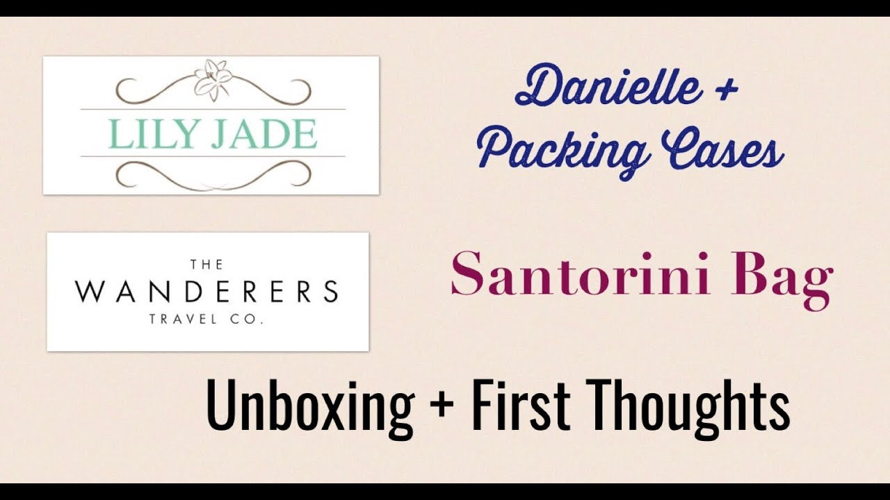 570e1489c0a05 Unboxing and first thoughts: Lily Jade Danielle and Wanderers Travel Co.  Santorini Leather Bag
