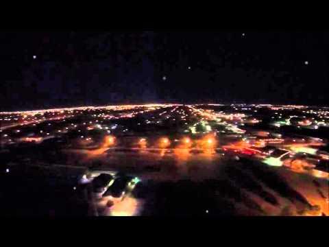 Night Flight Downtown Wichita, KS