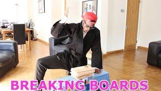 Breaking Boards Challenge