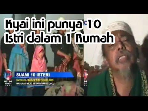 Kyai Madura Punya 10 Istri Dalam 1 Rumah