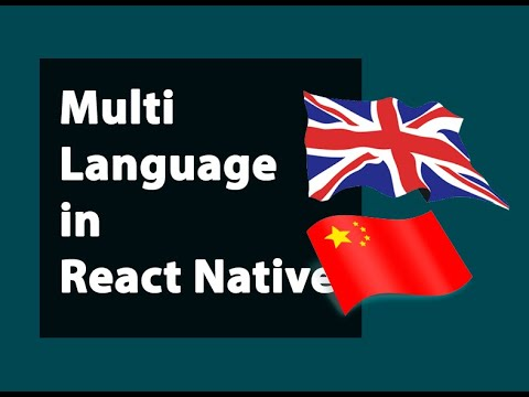 Multi Language Done Easily in React Native (2020)