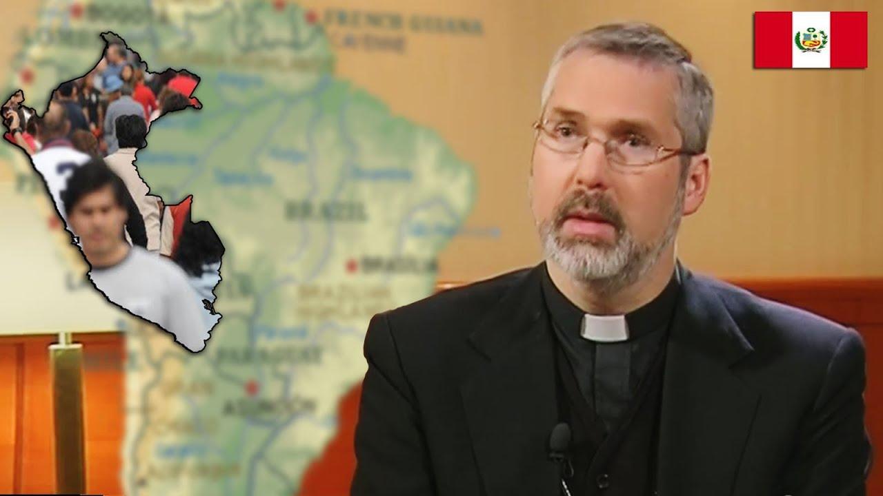 Mons. Kay Martin Schmalhausen, SCV Obispo de la prelatura de Ayaviri, Perú