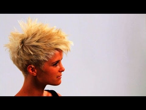 how-to-style-short-punk-hair-|-short-hairstyles