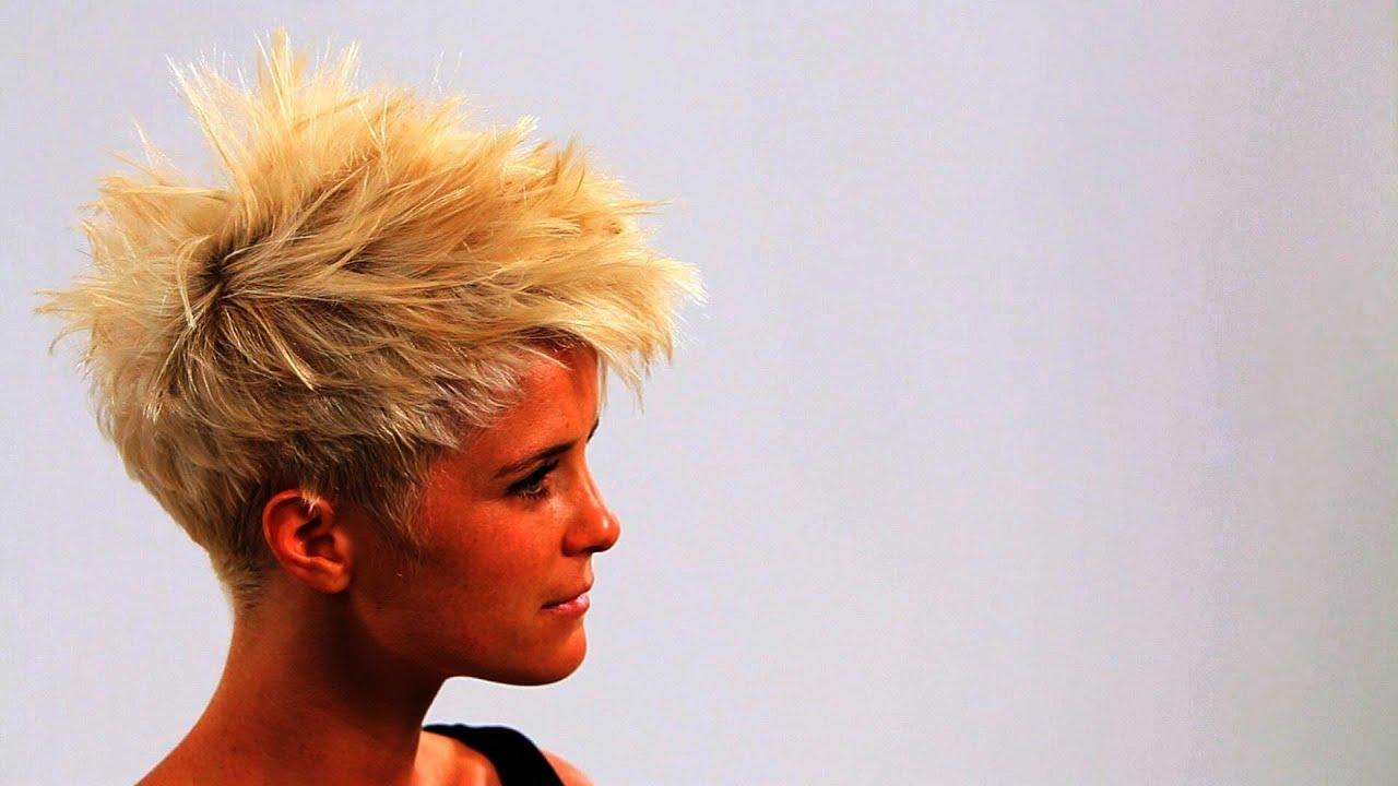 style short punk hair
