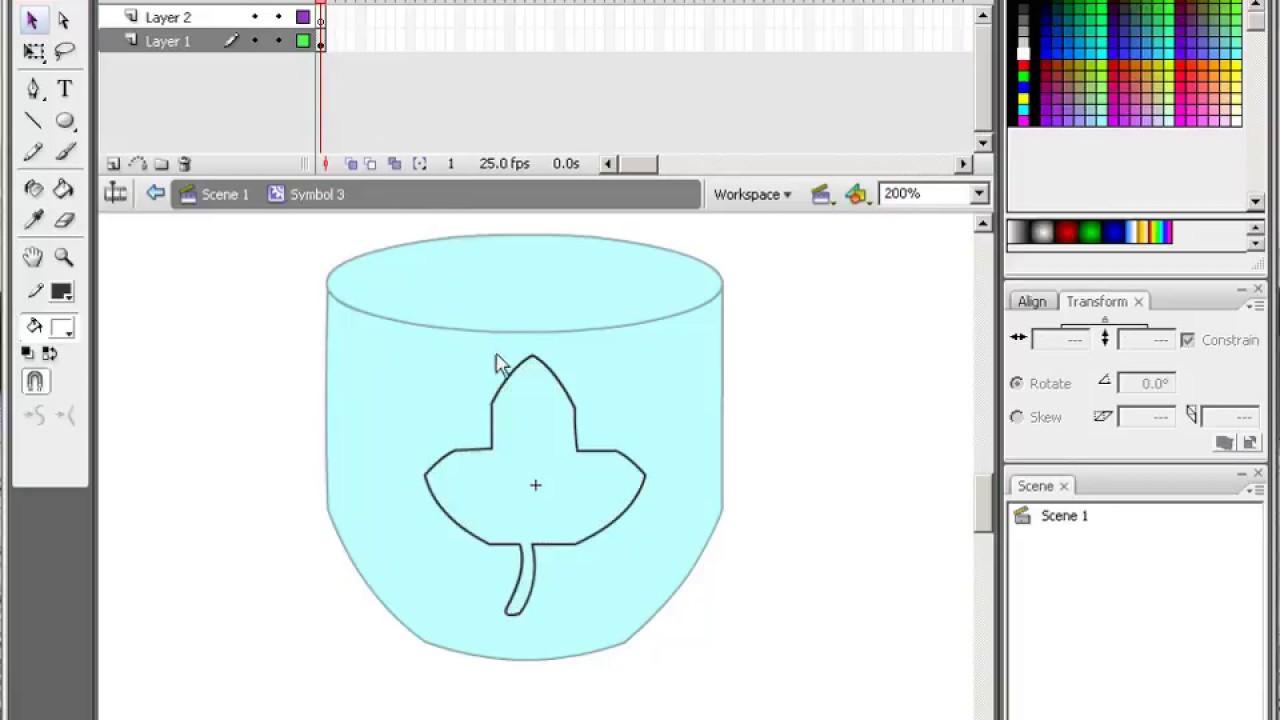 Adobe Flash Ile Boyama Kitabı Oluşturmakhazir Dosya Youtube