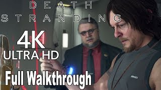 Death Stranding - Full Gameplay Walkthrough No Commentary [4K]