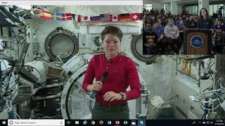 International Space Station Skype Call