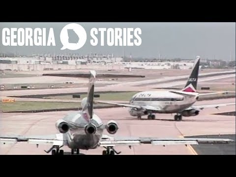 How Hartsfield-Jackson Airport Became The Busiest Airport In The World   Georgia Stories