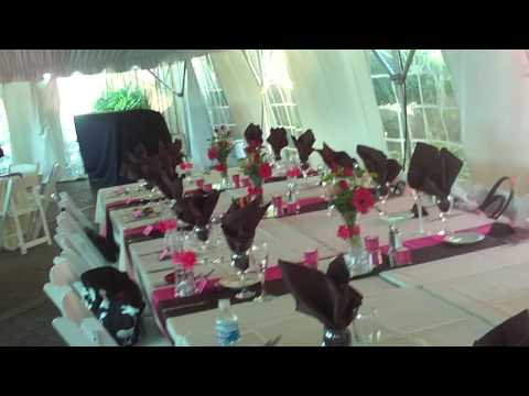 Unique Wedding ideas -- Pink and Brown Themed Wedding - YouTube