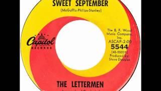 """Lettermen – """"Sweet September"""" (Capitol) 1965"""