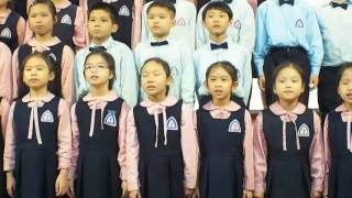 寶詩@學校復活節晚會 - 小二至四合唱團獻唱