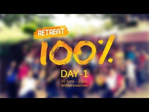 Retreat TNG 2014: 100% - Day 1