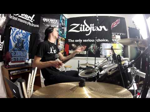Zedd - Drum Cover - Stay The Night (Feat. Hayley Williams of Paramore)