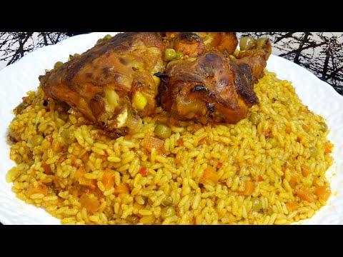 عشاء لذيذ الارز  بالدجاج والخضار بتثبيلة روعة من عند ام العربي و النتيجة مبهرة جدا***