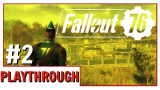 Fallout 76 Playthrough Episode 2 | Is The Story Any Good?