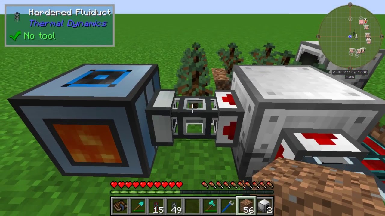 Minecraft 1 12 1 Industrial Foregoing Plastic Production Outdated Youtube