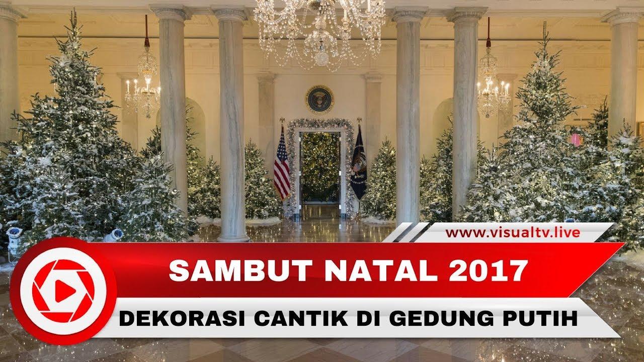 Mewah Dan Cantiknya Dekorasi Natal Di Gedung Putih Karya Melania Trump