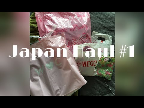 Japan Haul pt. 1: Lolita & Vintage Fashion