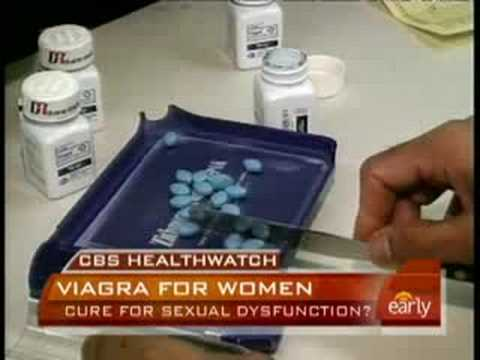 Study: Viagra Benefits Women