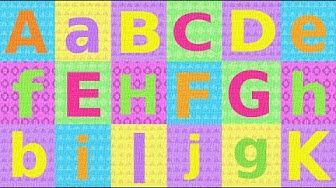 ABC Das deutsche Alphabet:  Teil 1 – German pronunciation for children/beginners - letters A-K